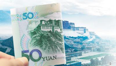人民币上的风景