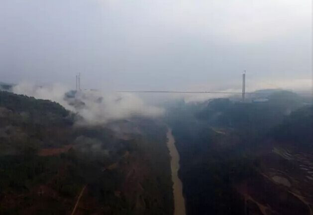 去云南龙江看亚洲第一大桥 感受云雾缥缈 - shengge - 我的博客