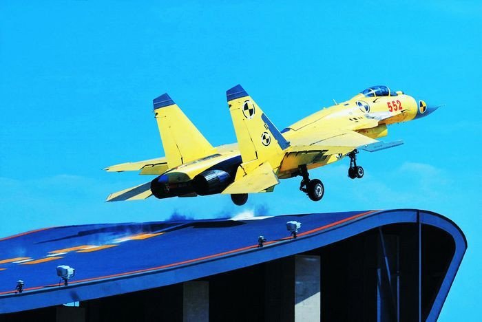 中国疑似弹射型舰载机成功首飞 前起落架粗壮 - 陈老师 - wzcxj0910 的博客