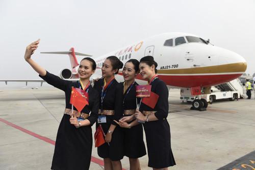 首架国产支线飞机arj21投入商业运营-3158福建分站