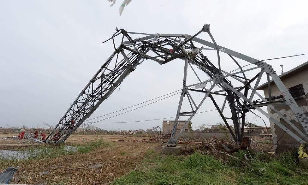 直击盐城重灾区现场:车被刮飞通讯铁塔被撅弯 - 一统江山 - 一统江山的博客