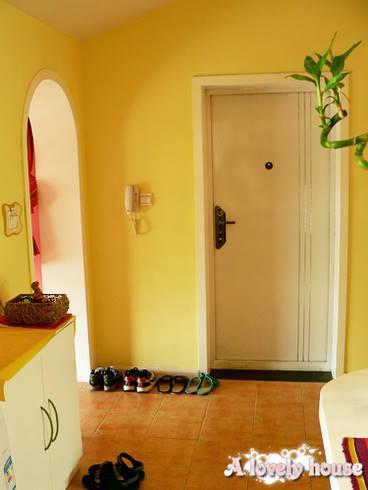 70平米小户型装修图:房子刚开始装的时候做的平面布置图,装修