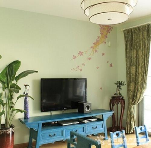客厅电视背景墙装修效果图大全2014组图 疯狂的壁纸