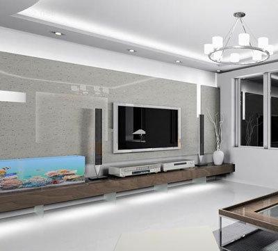 在中式家装里,一些设计师用中式窗花或中式木格,甚至中式木格加中式墙图片