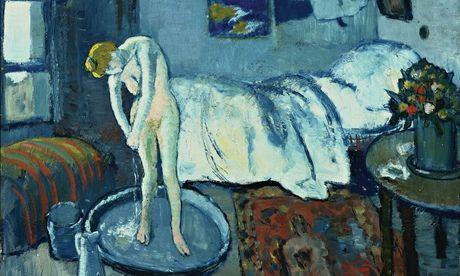 毕加索抽象画欧式建筑作品
