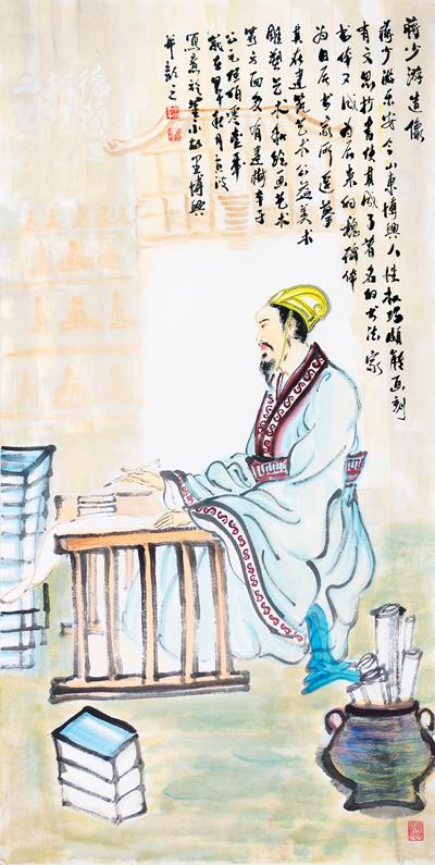 中国梦·滨州情2014书画年度人物--黄波