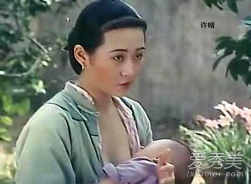 王小蒙许晴范冰冰 献身演喂奶镜头的女星