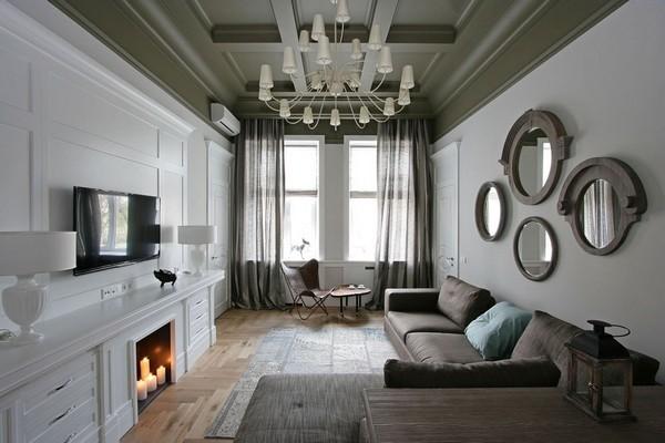 8款现代摩登客厅设计-河源房产信息