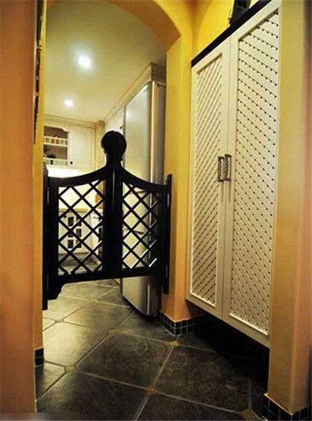 小户型门厅也能有春天 选对四款玄关瓷砖