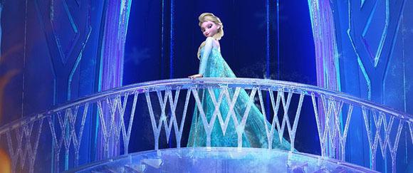 2《冰雪奇缘》城堡原型:艾尔莎公主冰雕城堡回顶部