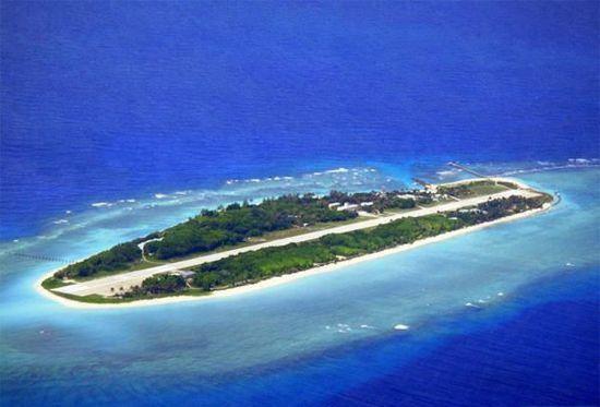 太平岛是目前南沙群岛的第四大岛屿