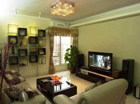 90平米房屋装修图片 现代简约风格两室一厅-河源房产